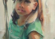 Sun Patterns-Girl Child