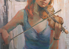 The Violinist-Girl Child
